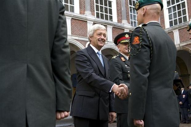 leger commandant harskamp
