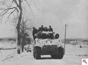 m_3rd armored division near manhay