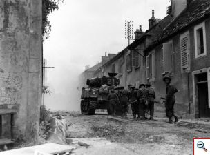 m_sherbrooke fusiliers in falaise