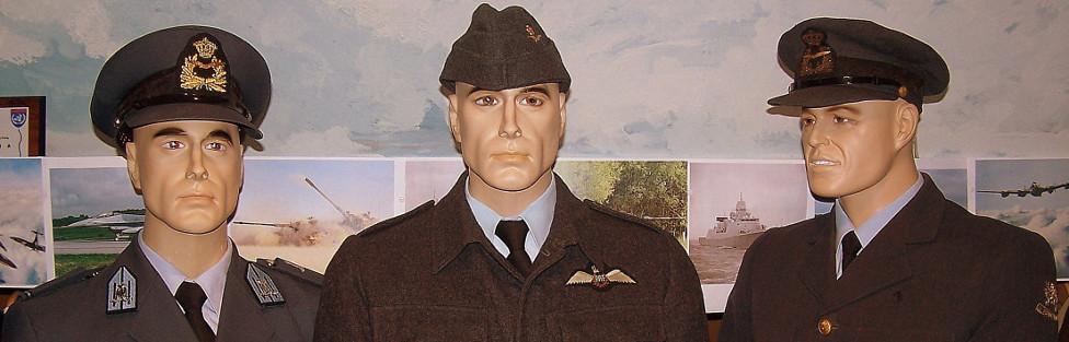 Luchtmacht uniformen